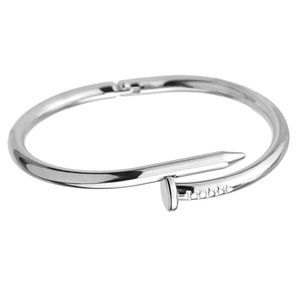 Jewelry - SILl_NAIL CUFF SILVER